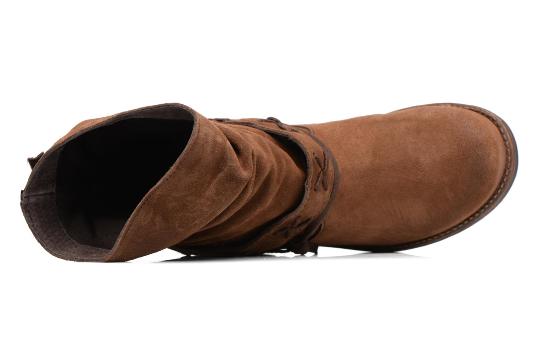 Stiefeletten & Boots Coolway Angus braun ansicht von links