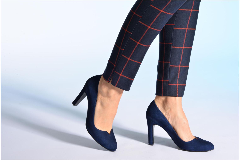 Zapatos de tacón Made by SARENZA Western Fever #7 Azul vista de abajo