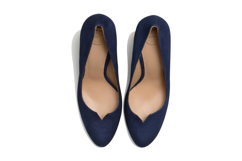 Zapatos de tacón Made by SARENZA Western Fever #7 Azul vista del modelo