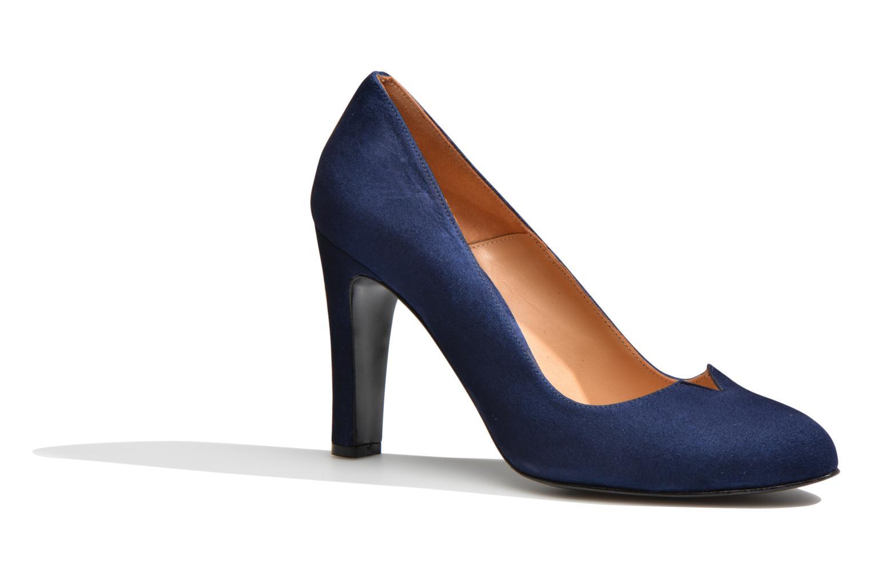 Høje hæle Made by SARENZA Western Fever #7 Blå Se fra højre