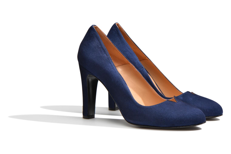 Zapatos de tacón Made by SARENZA Western Fever #7 Azul vistra trasera