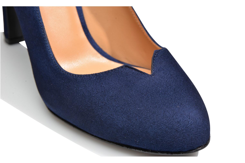 Høje hæle Made by SARENZA Western Fever #7 Blå se fra venstre