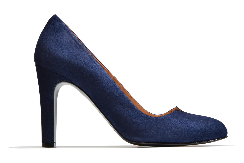 Høje hæle Made by SARENZA Western Fever #7 Blå detaljeret billede af skoene