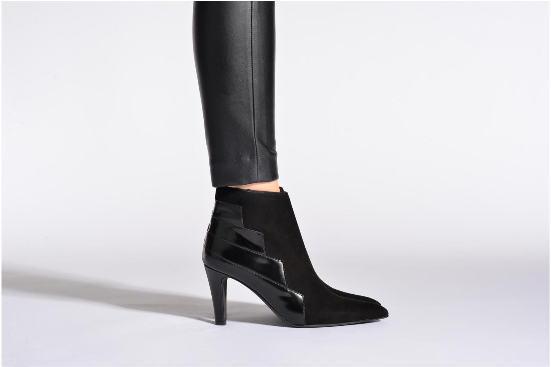 Stiefeletten & Boots Perlato Prugo schwarz ansicht von unten / tasche getragen