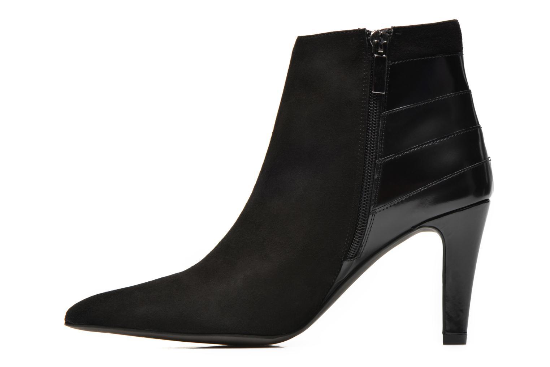 Boots en enkellaarsjes Perlato Prugo Zwart voorkant