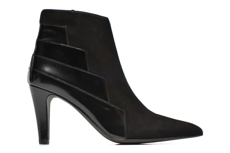 Boots en enkellaarsjes Perlato Prugo Zwart achterkant