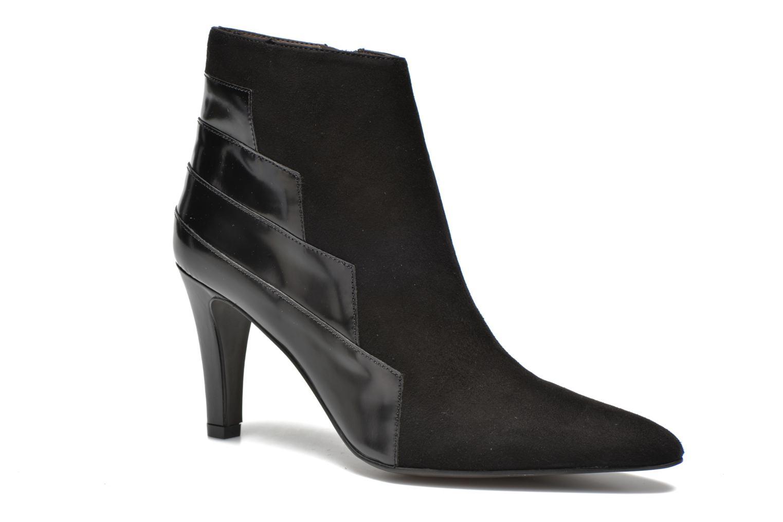 Boots en enkellaarsjes Perlato Prugo Zwart detail
