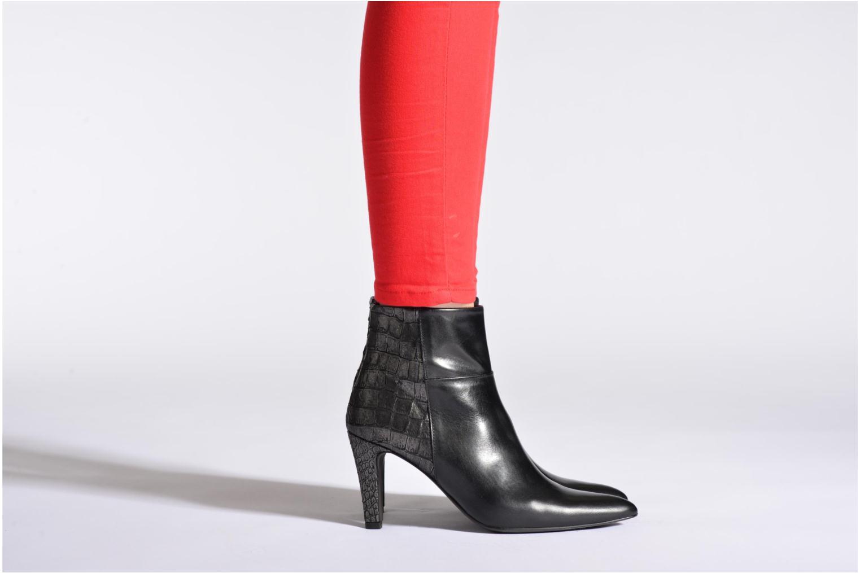 Stiefeletten & Boots Perlato Poobe schwarz ansicht von unten / tasche getragen