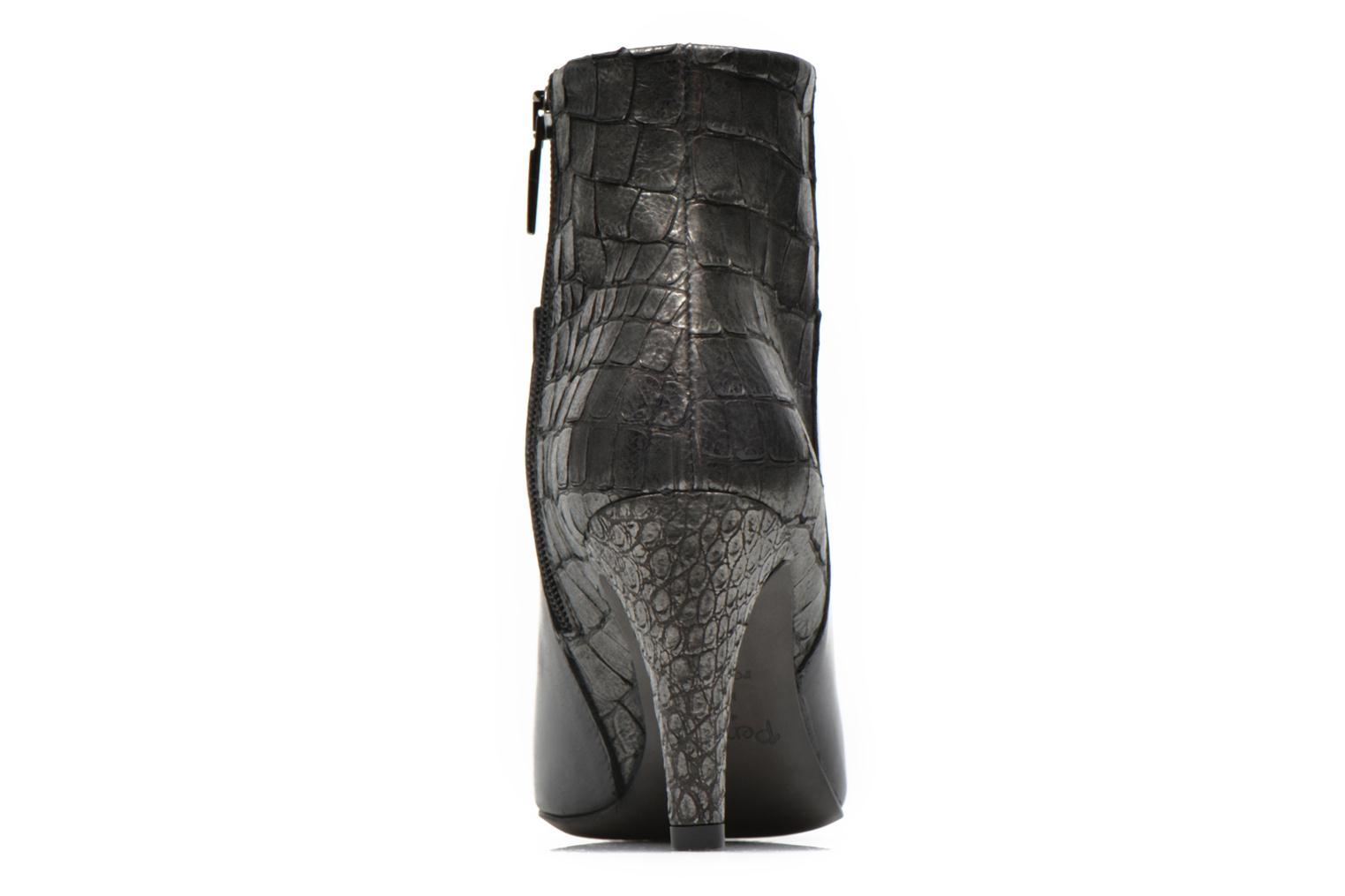 Ankle boots Perlato Poobe Black view from the right