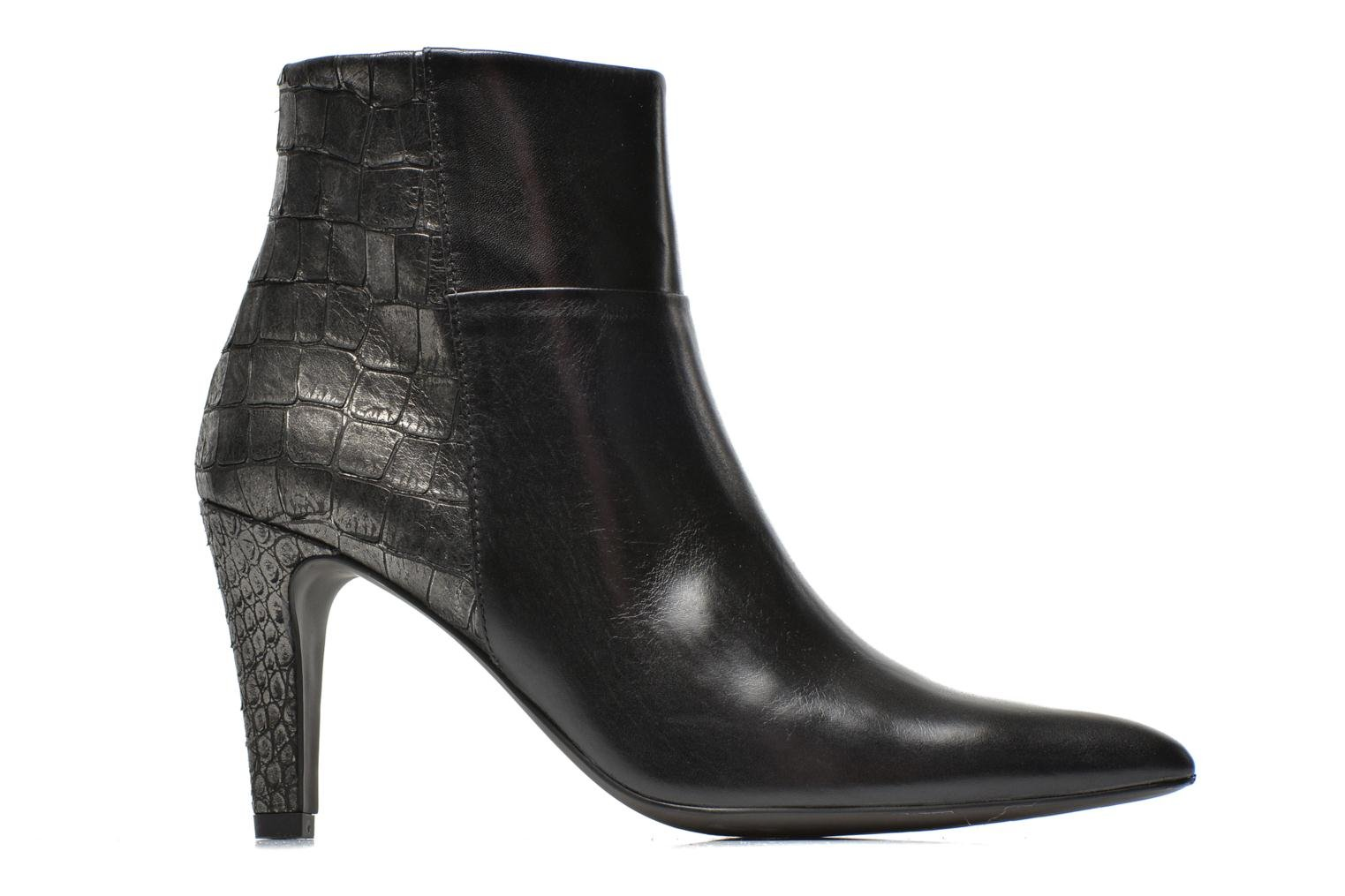 Ankle boots Perlato Poobe Black back view