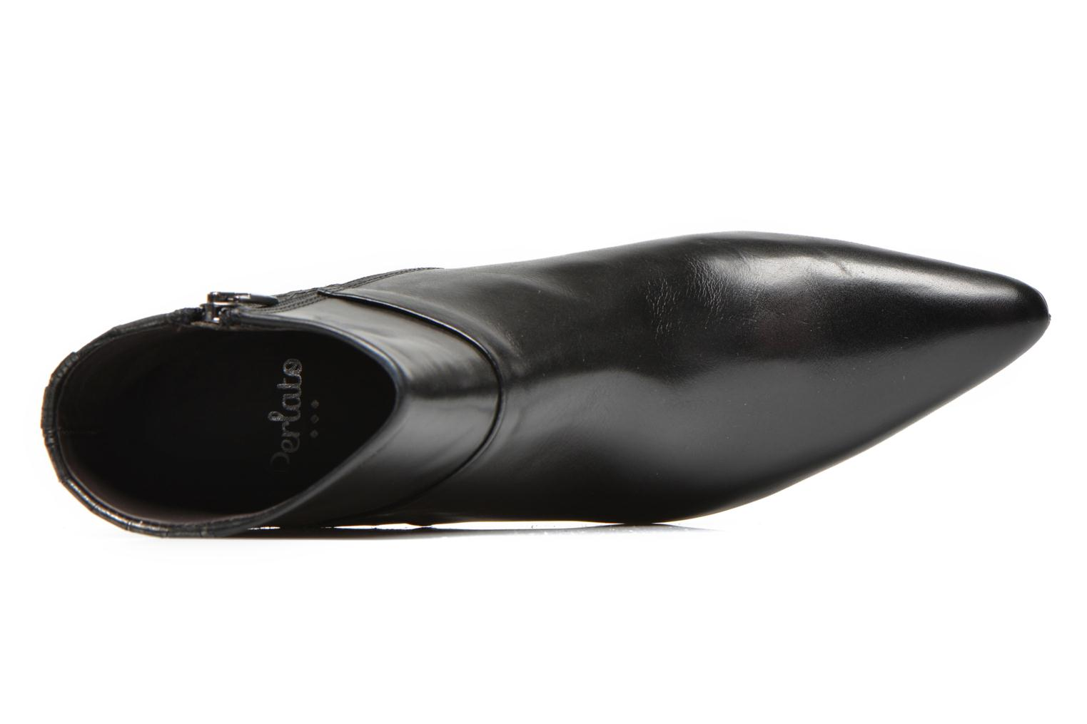 Ankle boots Perlato Poobe Black view from the left