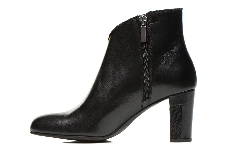 Ankle boots Perlato Plapo Black front view