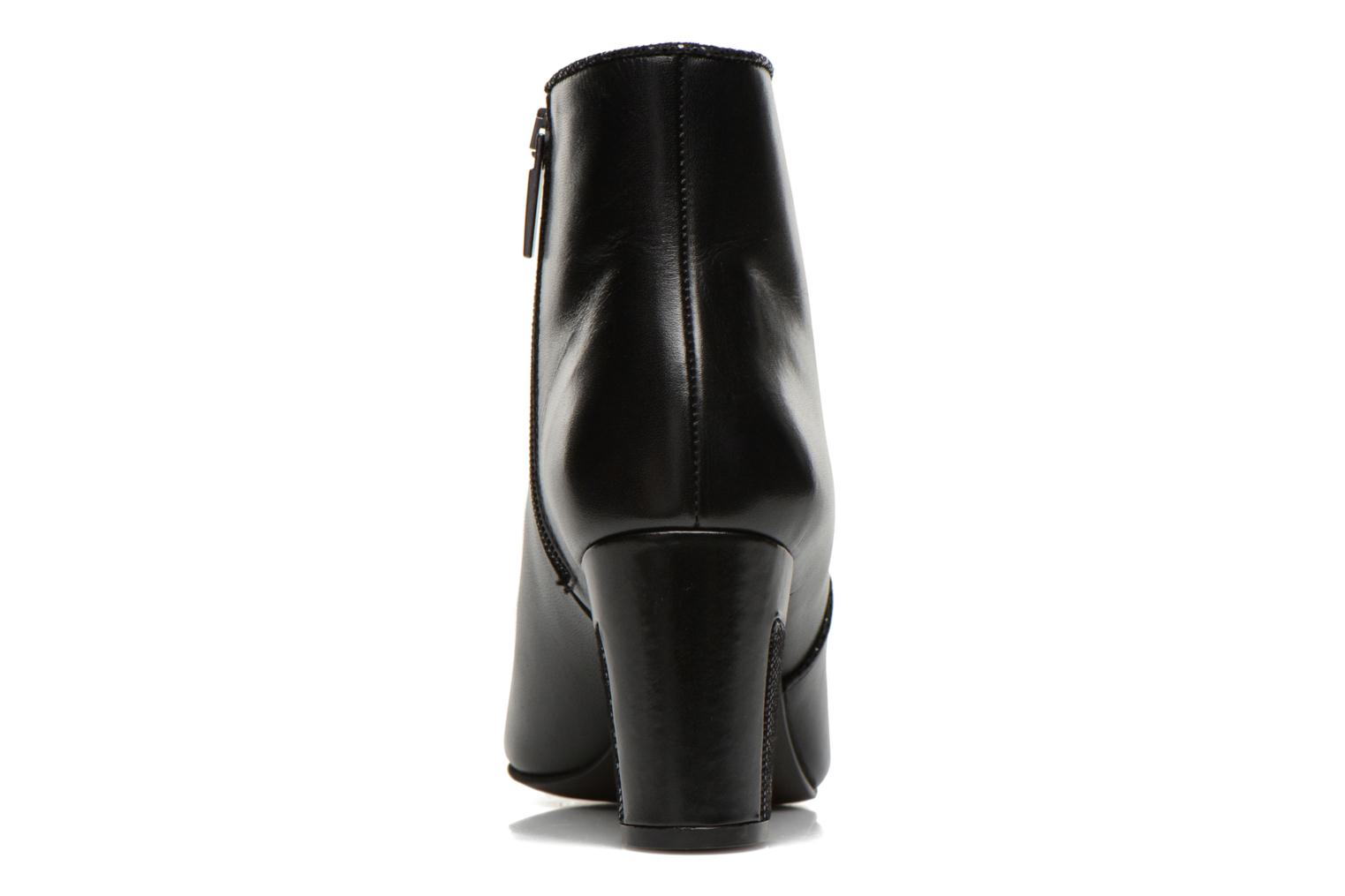Ankle boots Perlato Plapo Black view from the right