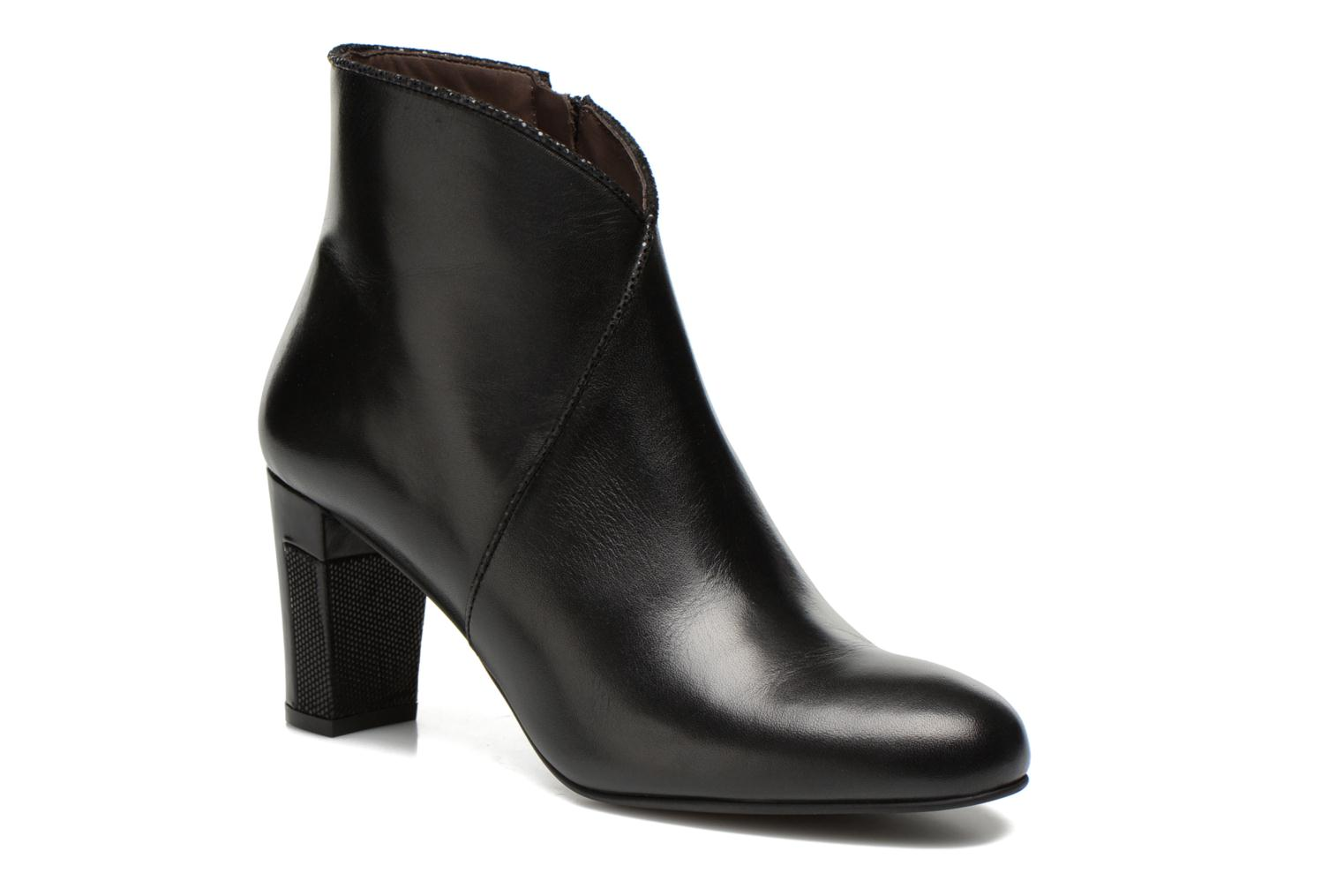 Ankle boots Perlato Plapo Black detailed view/ Pair view