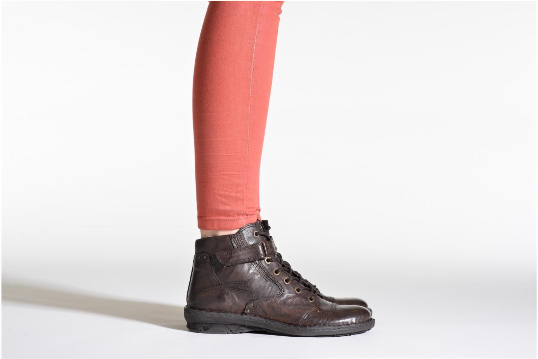 Stiefeletten & Boots Khrio Rehayen schwarz ansicht von unten / tasche getragen