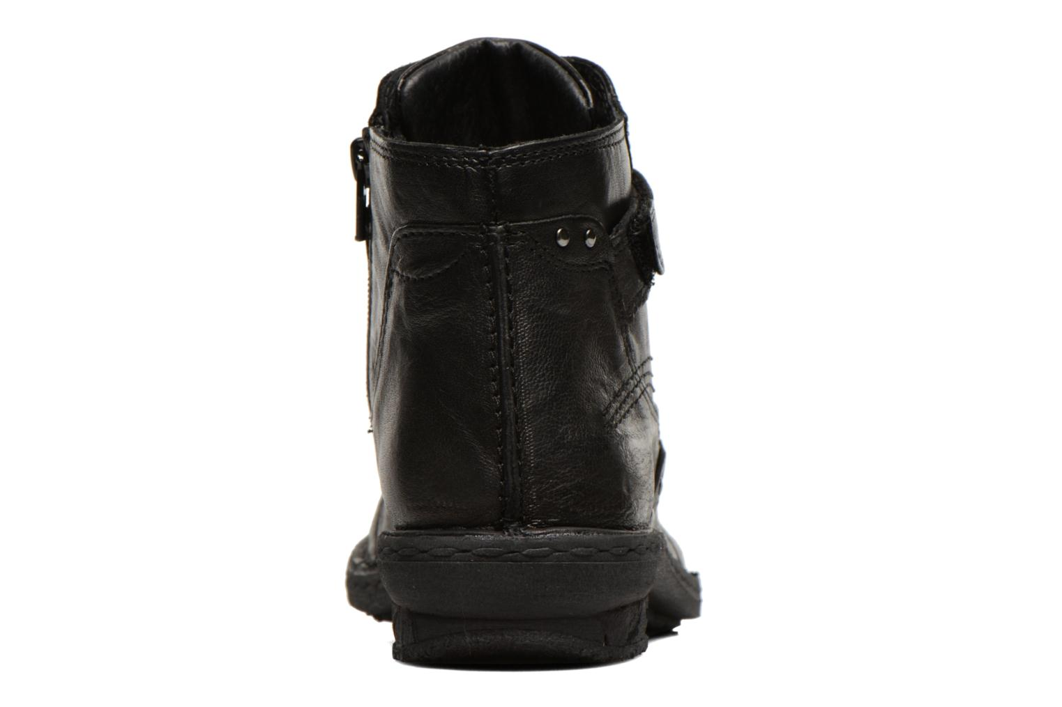 Ankle boots Khrio Rehayen Black view from the right
