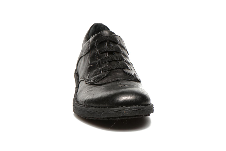 Schnürschuhe Khrio Malawi schwarz schuhe getragen