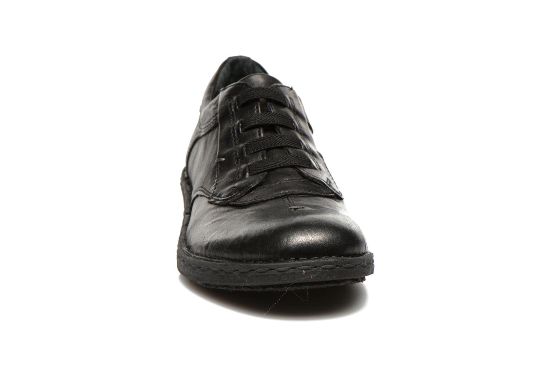 Chaussures à lacets Khrio Malawi Noir vue portées chaussures
