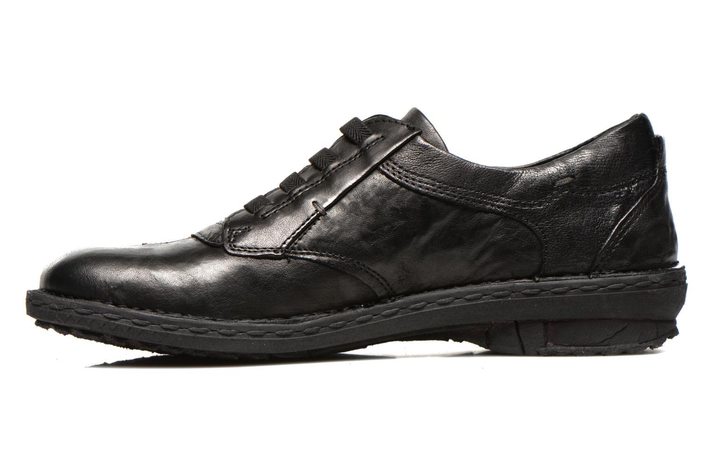 Chaussures à lacets Khrio Malawi Noir vue face