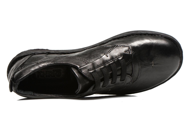 Chaussures à lacets Khrio Malawi Noir vue gauche