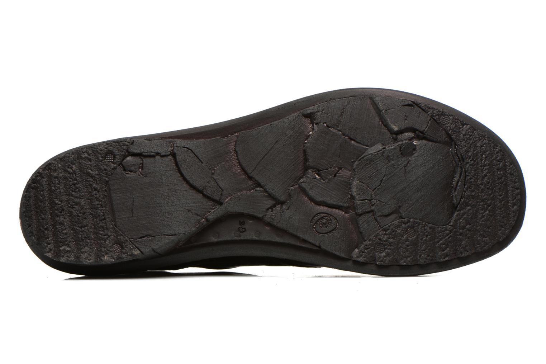 Chaussures à lacets Khrio Malawi Noir vue haut