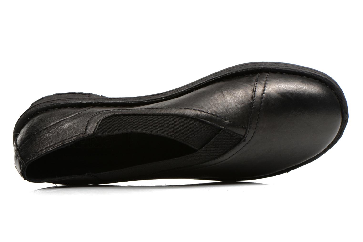 Loafers Khrio Noura Black view from the left