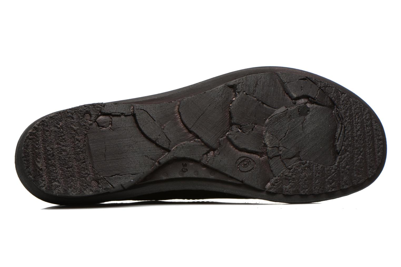 Loafers Khrio Noura Black view from above