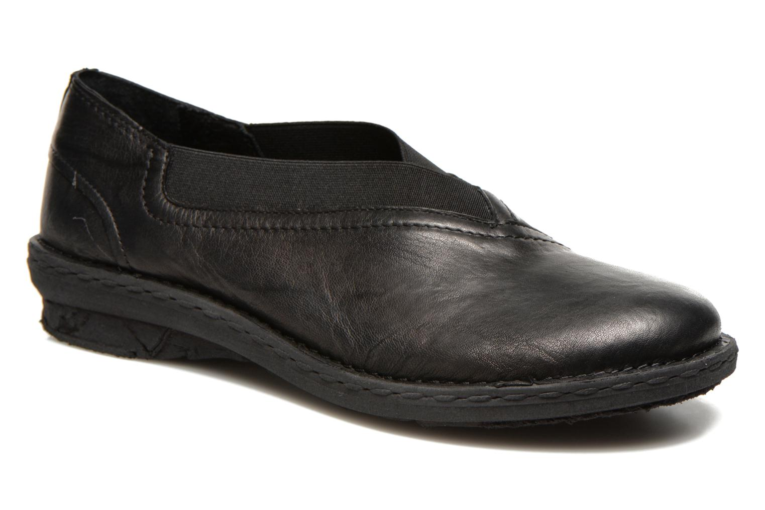 Loafers Khrio Noura Black detailed view/ Pair view