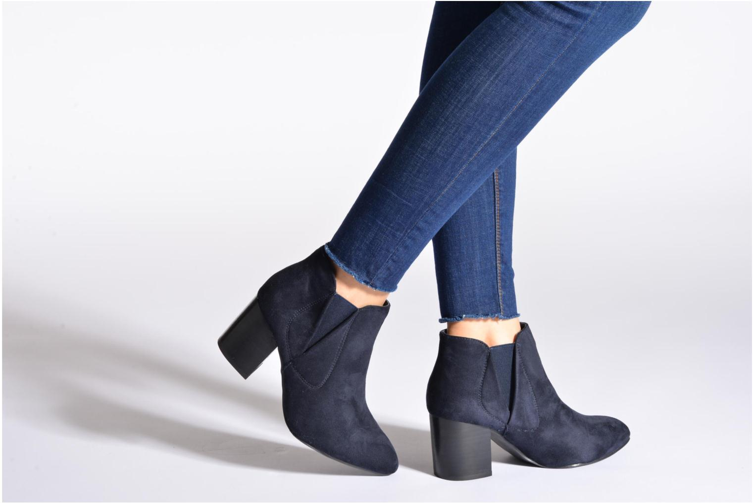 Ankle boots Eclipse Bottine Cally Blue view from underneath / model view