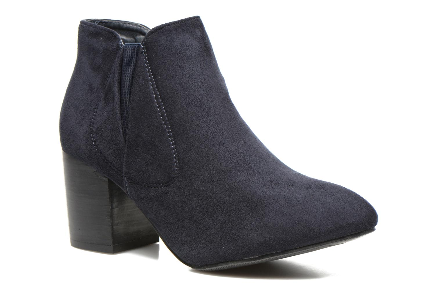 Boots en enkellaarsjes Eclipse Bottine Cally Blauw detail