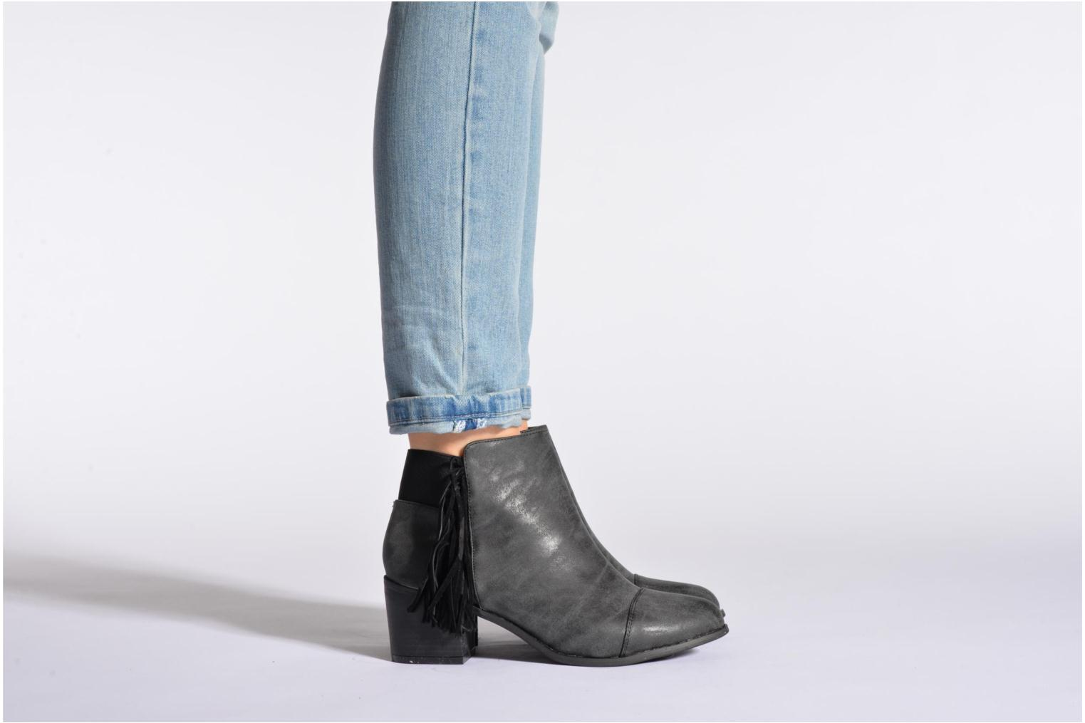 Ankle boots Eclipse Bottine Janice Grey view from underneath / model view