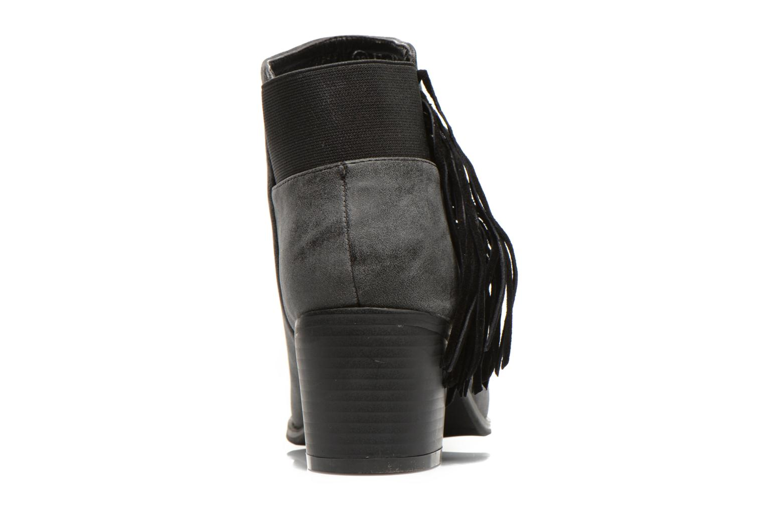 Ankle boots Eclipse Bottine Janice Grey view from the right