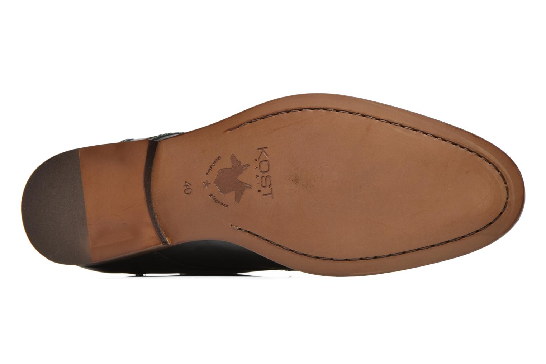 Bottines et boots Kost Guillemet Noir vue haut