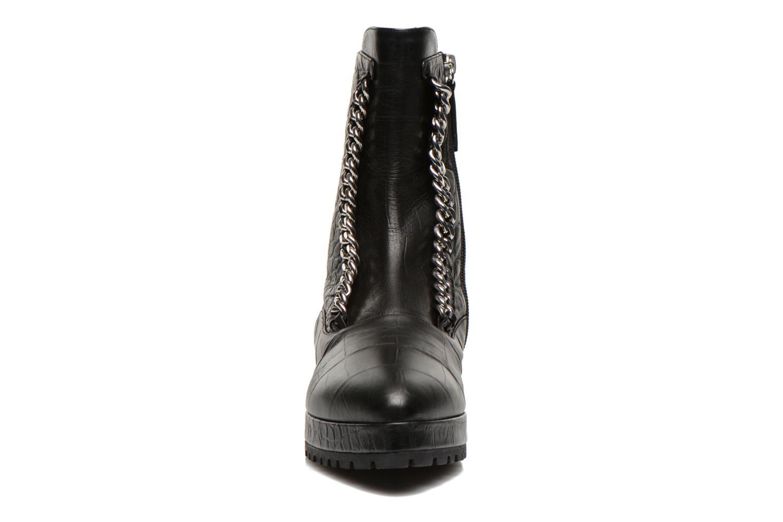 Bottines et boots Vicini Bottines double chaîne Noir vue portées chaussures