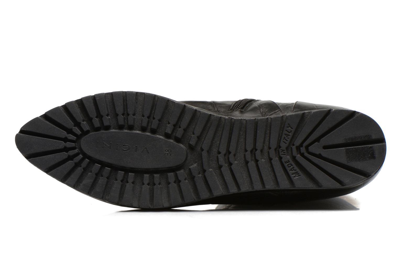 Bottines et boots Vicini Bottines double chaîne Noir vue haut