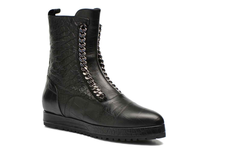 Stiefeletten & Boots Vicini Bottines double chaîne schwarz detaillierte ansicht/modell
