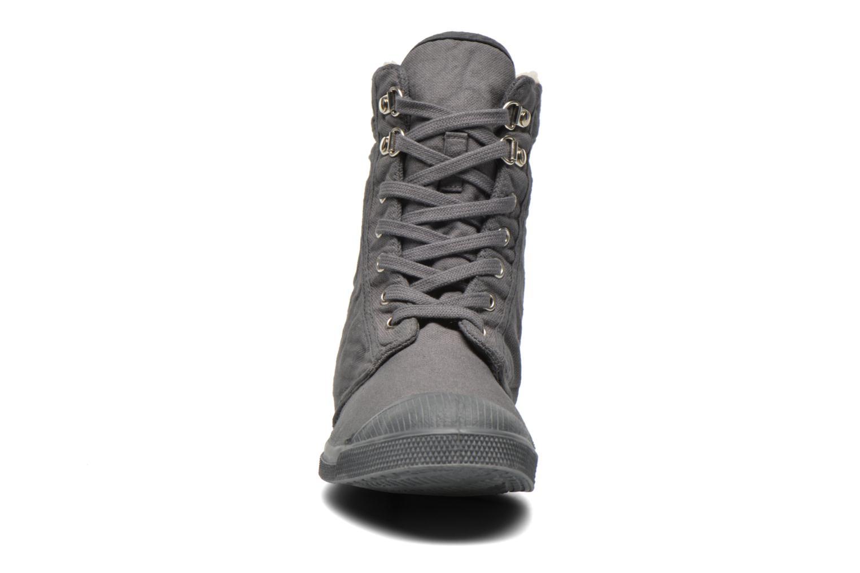 Baskets Bensimon Tennis Ranger Gris vue portées chaussures