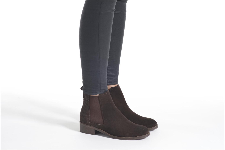 Bottines et boots Bensimon Boots Elastiques Bleu vue bas / vue portée sac