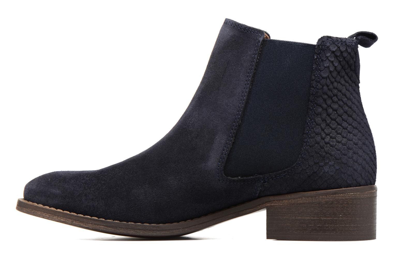 Bottines et boots Bensimon Boots Elastiques Bleu vue face