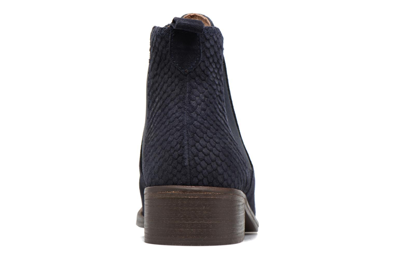 Bottines et boots Bensimon Boots Elastiques Bleu vue droite