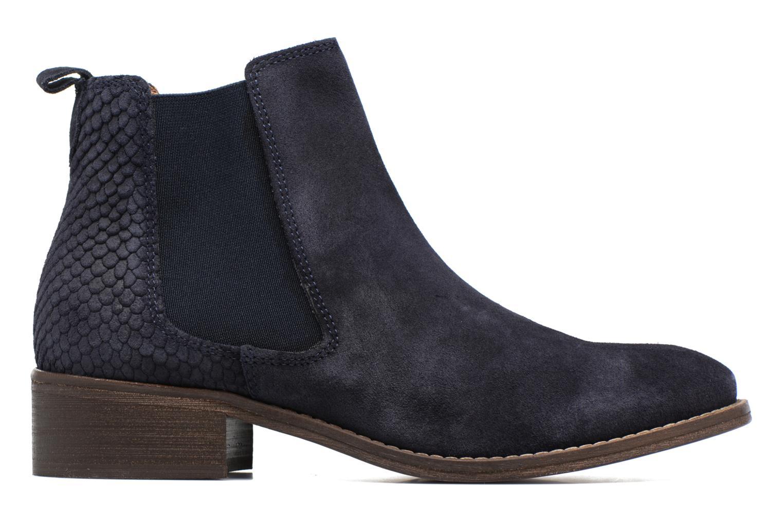 Bottines et boots Bensimon Boots Elastiques Bleu vue derrière