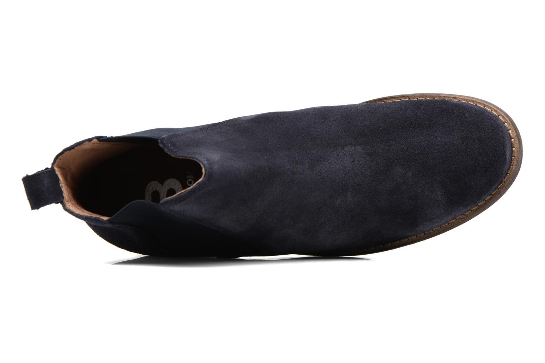 Bottines et boots Bensimon Boots Elastiques Bleu vue gauche