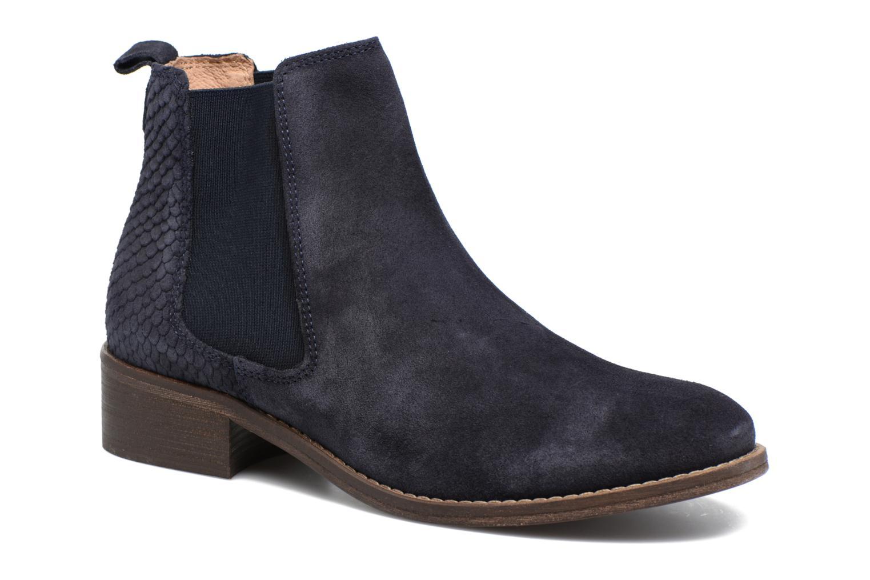 Bottines et boots Bensimon Boots Elastiques Bleu vue détail/paire