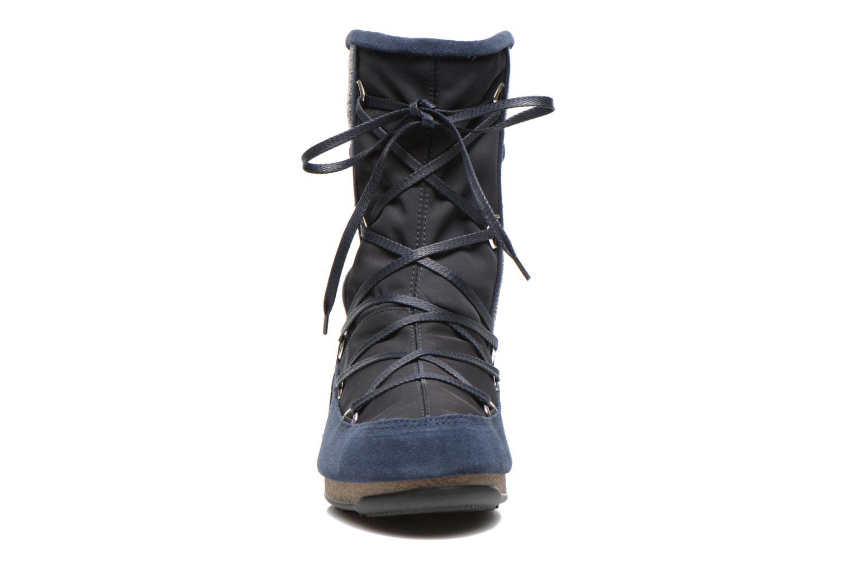 Sportschuhe Moon Boot Vienna Mix blau schuhe getragen