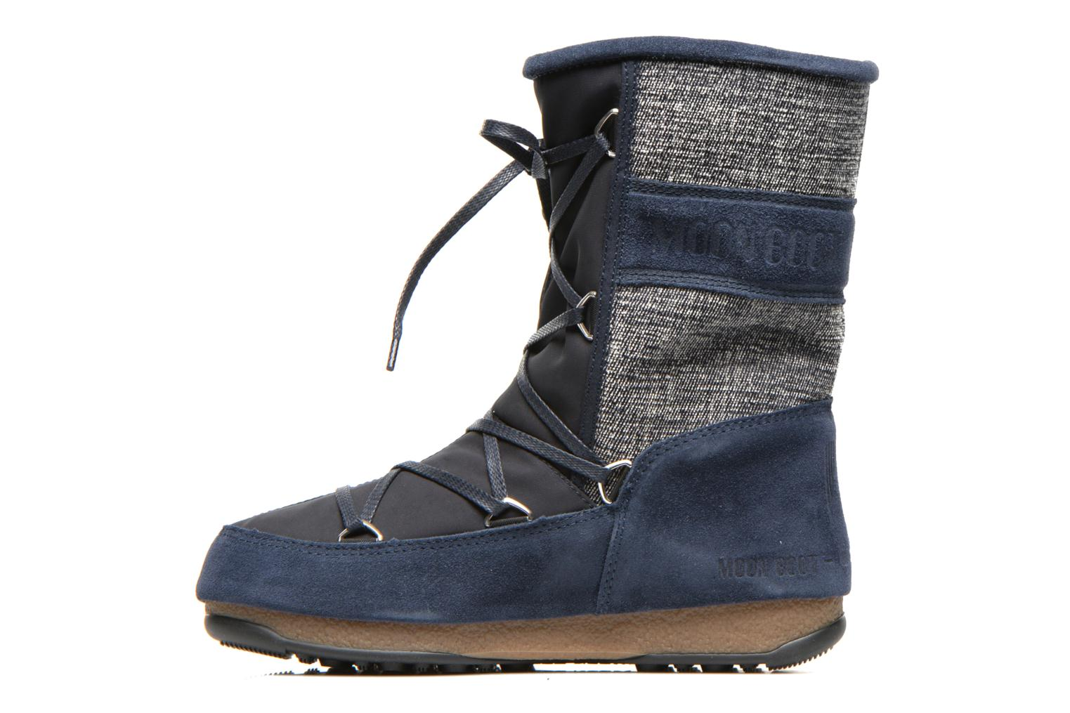 Sport shoes Moon Boot Vienna Mix Blue front view