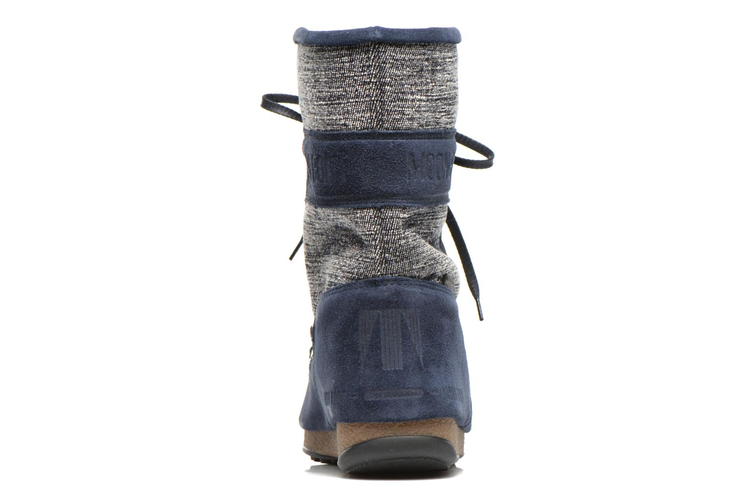Sport shoes Moon Boot Vienna Mix Blue view from the right