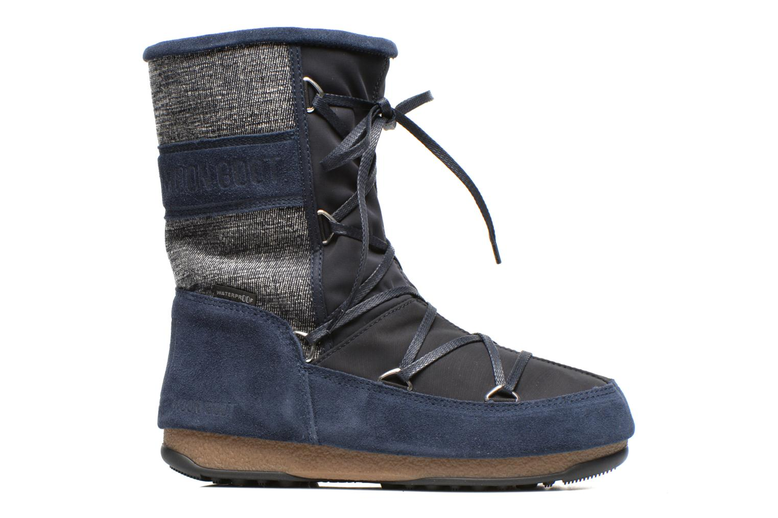 Sport shoes Moon Boot Vienna Mix Blue back view