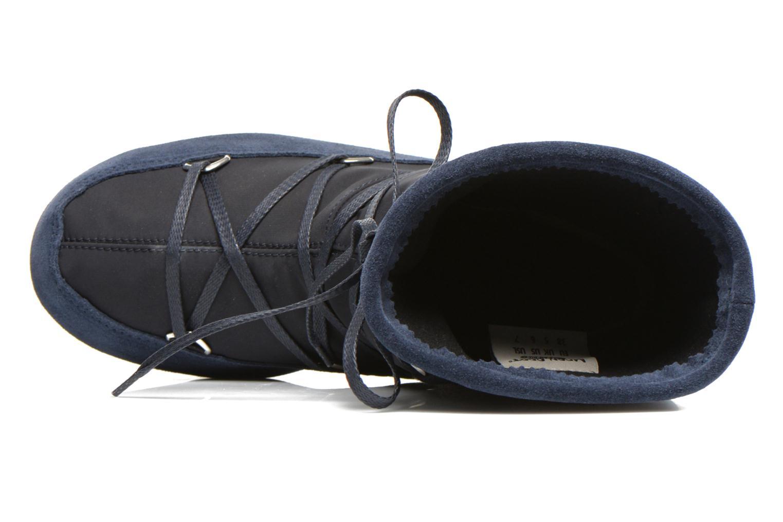 Sportssko Moon Boot We Vienna Mix Blå se fra venstre