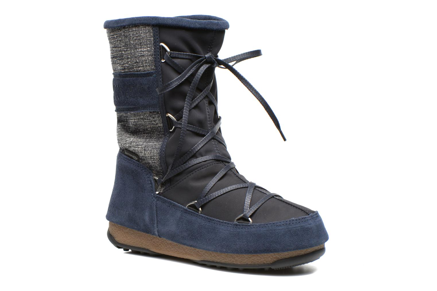 Sportschoenen Moon Boot Vienna Mix Blauw detail