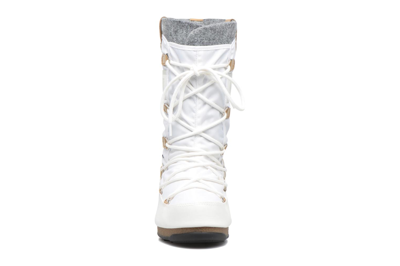 Bottines et boots Moon Boot Monaco Felt Noir vue portées chaussures